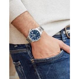 Ρολόι Ανδρικό Marea B36148-2 Ασημί-Γκρι