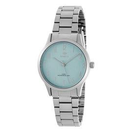 Ρολόι Γυναικείο Marea B41242-5 Ασημί-Γαλάζιο