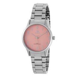 Ρολόι Γυναικείο Marea B41242-6 Ασημί-Ρόζ