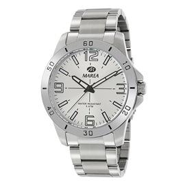 Ρολόι Ανδρικό Marea B54126-2 Ασημί