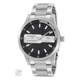 Ρολόι Ανδρικό Marea B54173-1 Ασημί