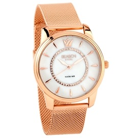 Ατσάλινο ρολόι Season Time 6415-1 RG Pearl Series