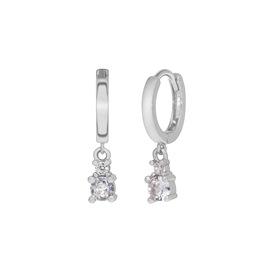 Ασημένια σκουλαρίκια Marea Silver D02001-AS