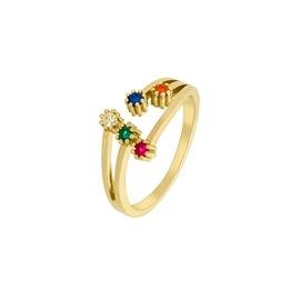 Ασημένιο δαχτυλίδι Marea Gold D02006-AN