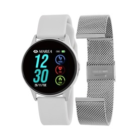 Smart Watch Marea B58001-3 Άσπρο