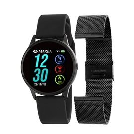 Smart Watch Marea B58001-1 Μαύρο