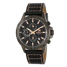 Ρολόι Ανδρικό Marea B54181-3 Μαύρο