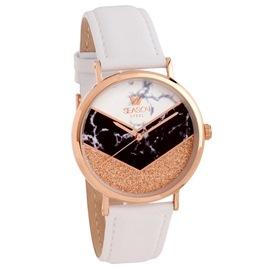 Ατσάλινο ρολόι Season 6317-3 Λευκό Glam Series
