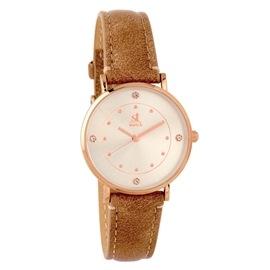 Ρολόι Season ST 9148-3 Καφέ Cosmopolitan Series