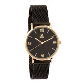Ρολόι Season ST 9249-1 Μαύρο Brooklyn Series