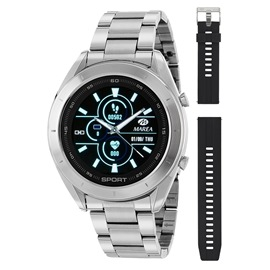 Smart Watch Marea B58004-1 Ασημί
