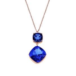 Κολιέ Season Jewels 1514-2 Ροζ Χρυσό