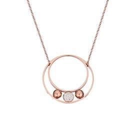 Κολιέ Season Jewels 1516-2 Ροζ Χρυσό