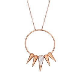 Κολιέ Season Jewels 1512-2 Ροζ Χρυσό