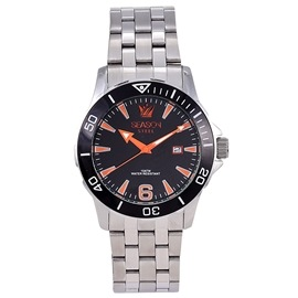 Stainless steel Watch Season 5220-1 Silver-Black Terminal Series