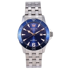 Stainless steel Watch Season 5220-3 Silver-Blue Terminal Series