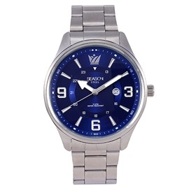 Stainless steel Watch Season 5221-3 Silver-Blue Apollo Series