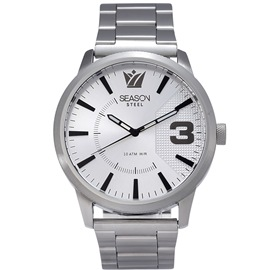 Stainless steel Watch Season 6433-4 Silver Monte Carlo Series