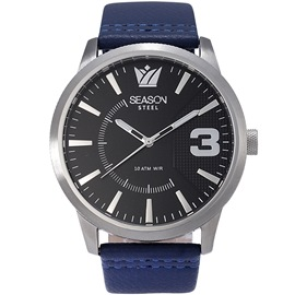 Stainless steel Watch Season 6333-5 Blue Monte Carlo Series