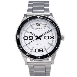 Stainless steel Watch Season 6434-4 Silver Monaco Series