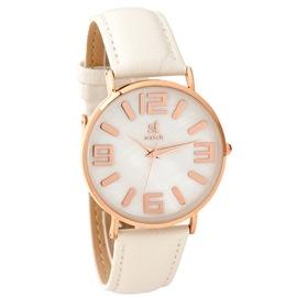 Ρολόι Season ST 9138-6 Λευκό New Pearl Series